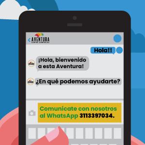 ¡Comunicarse con nosotros es muy fácil!